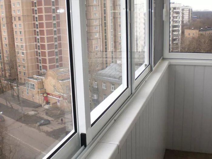 Остелим балкон. трехполозная система. без предоплаты в москв.
