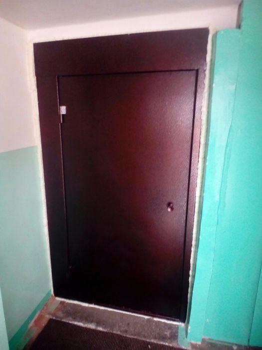 двери металлические полимерные