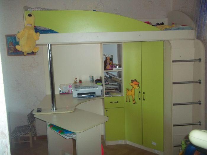 кровать-шкаф детская фото